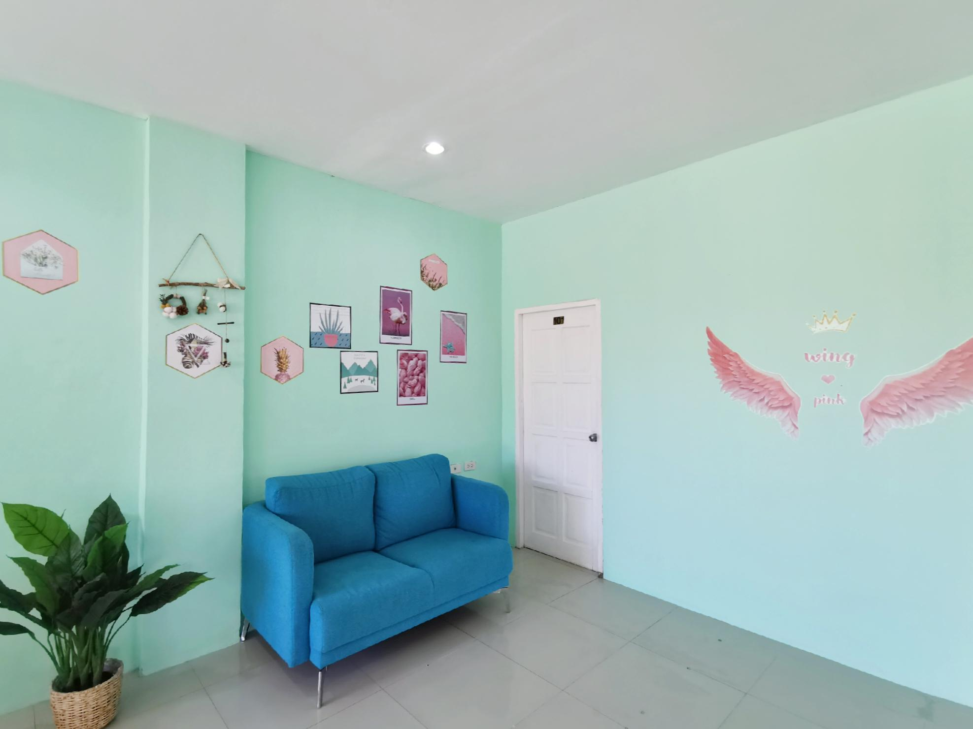 Patong Boutique King Bed Room 2 / Quiet / Clean อพาร์ตเมนต์ 1 ห้องนอน 1 ห้องน้ำส่วนตัว ขนาด 30 ตร.ม. – ป่าตอง