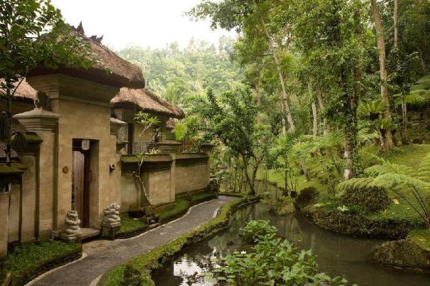 Healing Private Pool Villa- Riverside Organic Farm