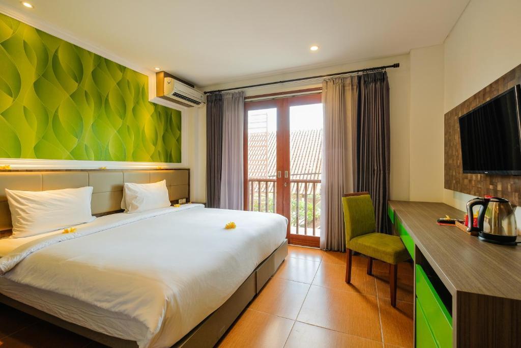 1 BR Superior Room+shower+Brkfst @ 26 Canggu