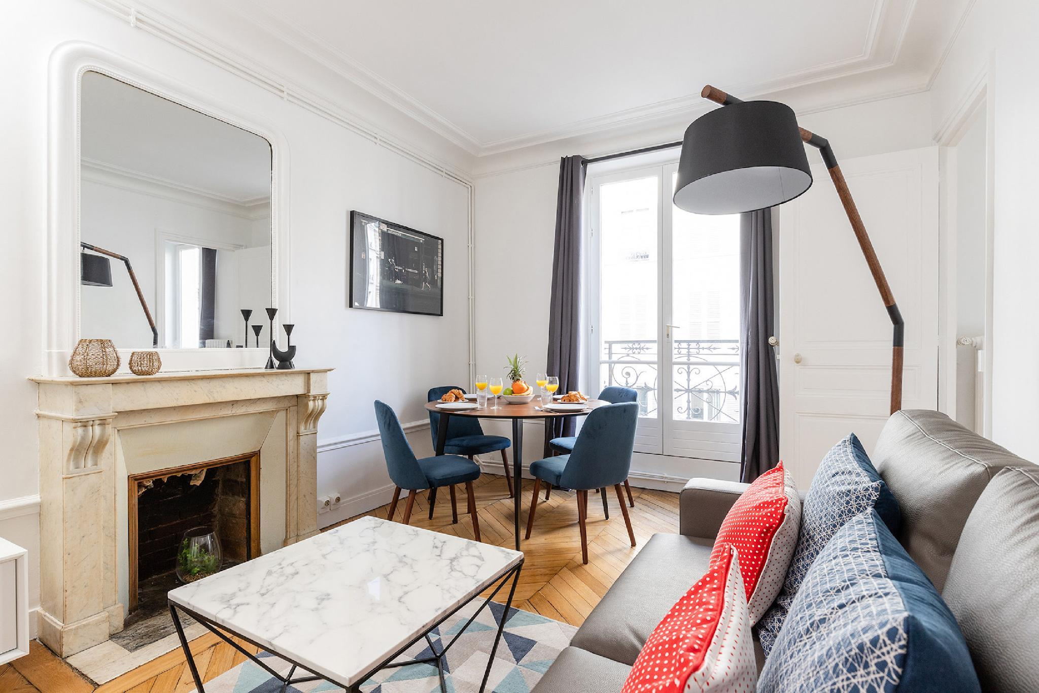 THE SEINE AND LATIN QUARTER LOVELY 1 BR FLAT