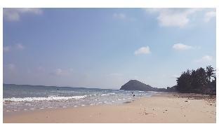 [パティオ]スタジオ アパートメント(23 m2)/1バスルーム DELUXE Hotel on the Beach -front view- Triple Room