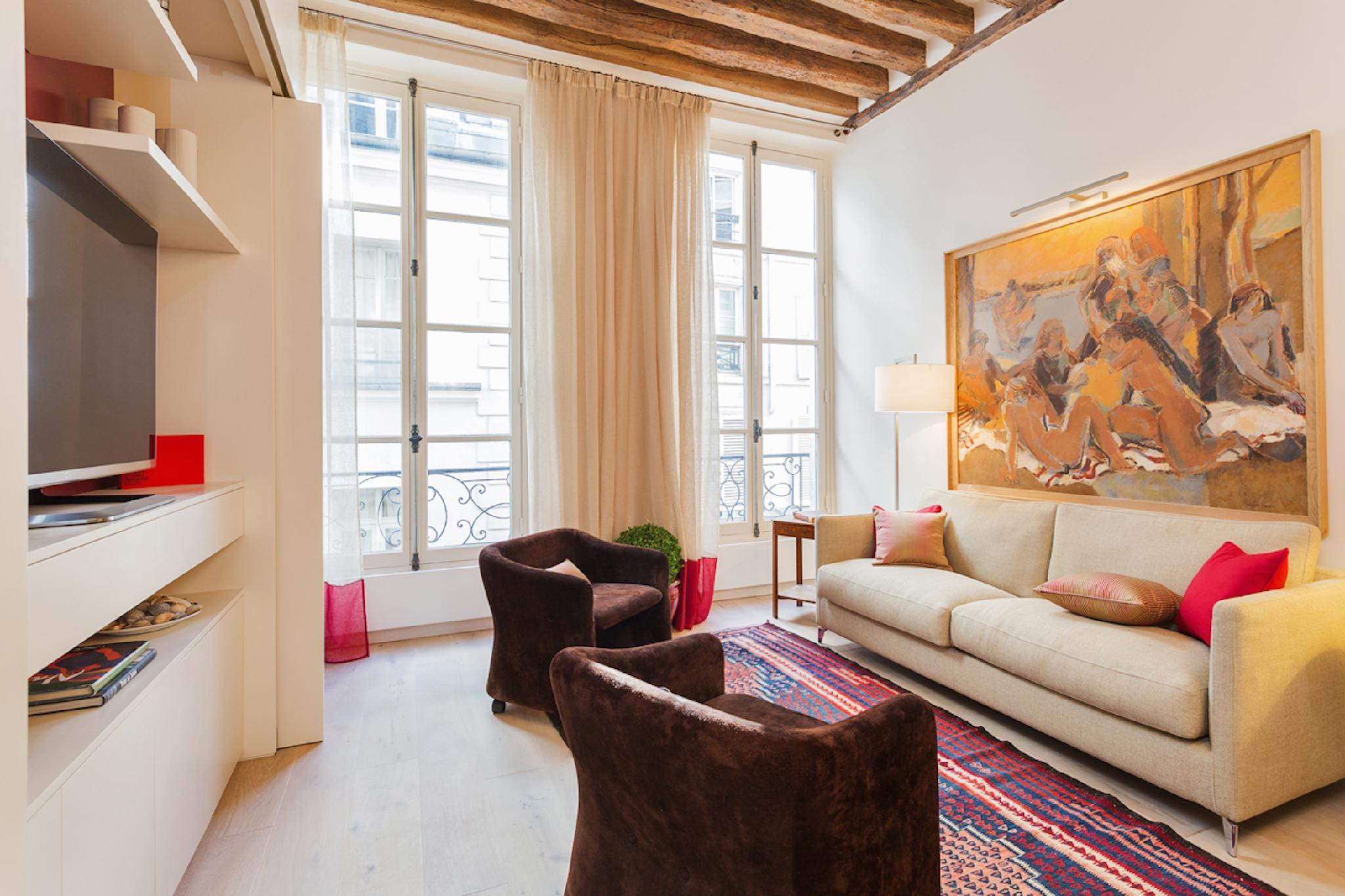 BEAUTIFUL 2BR STEPS FROM LA SEINE