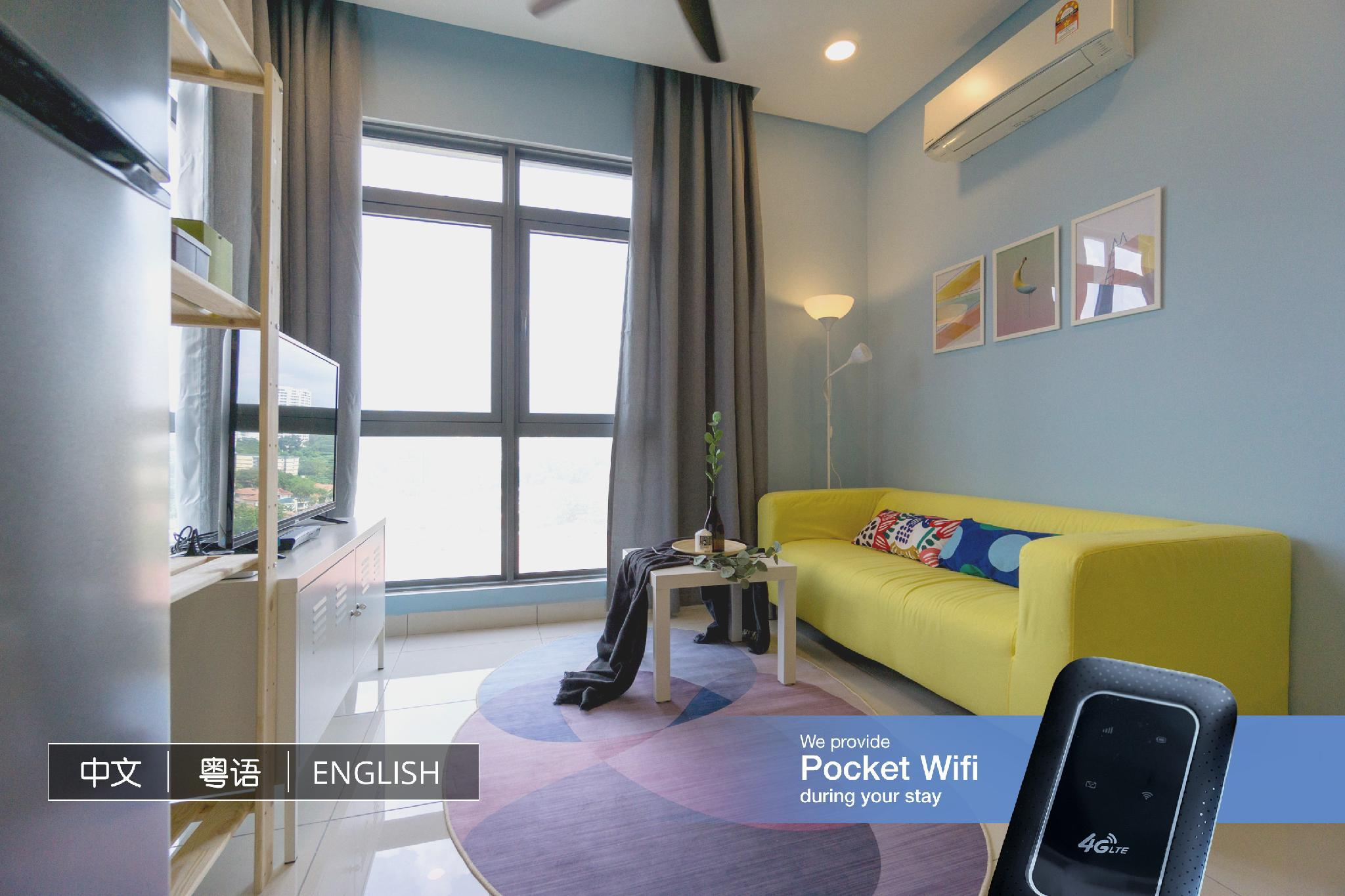 Modern Cozy 2BR Suite @ Vivo Residence Mid Valley