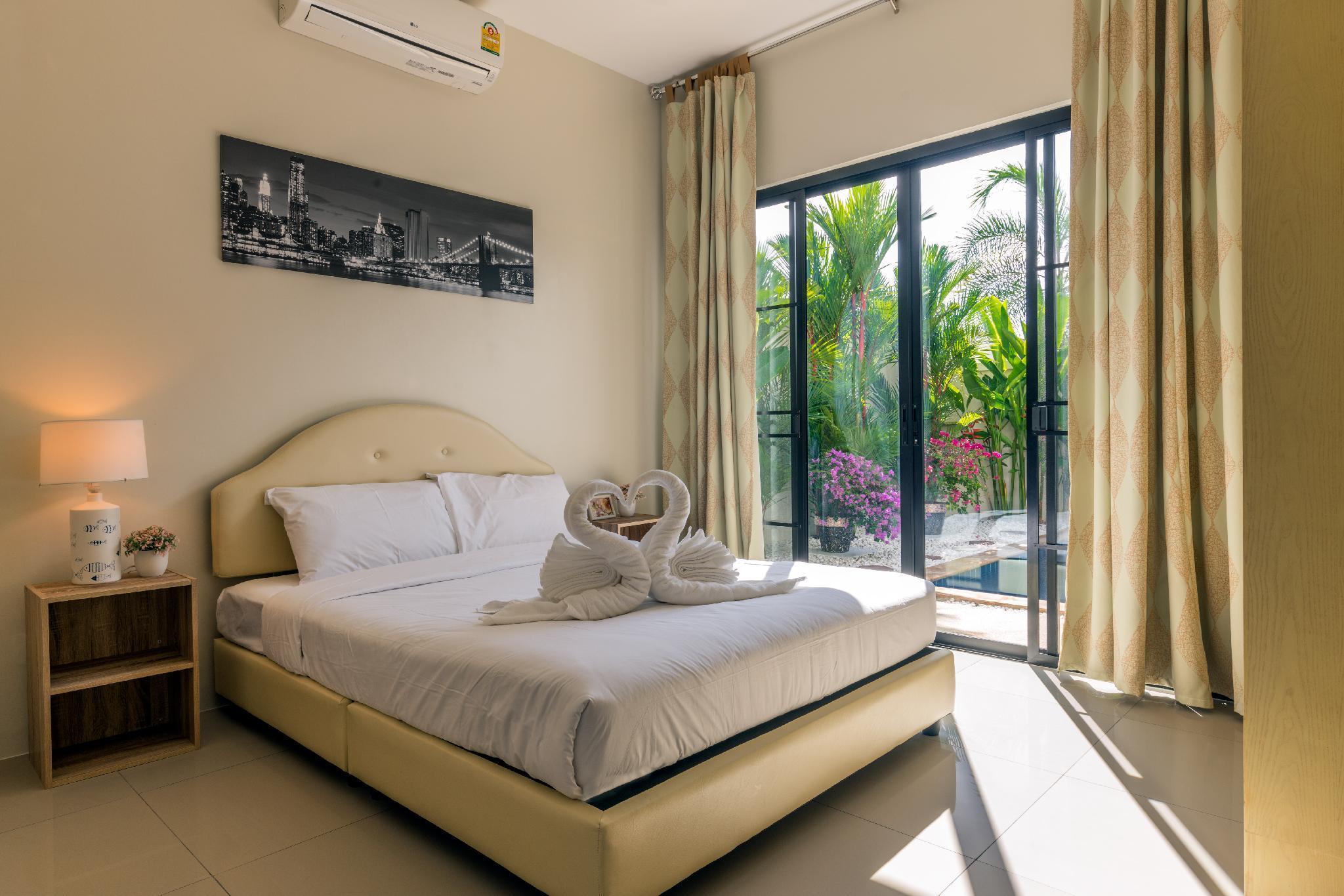 Dreamy 3br Boutique Pool Villa by IntiraVillas บ้านเดี่ยว 3 ห้องนอน 2 ห้องน้ำส่วนตัว ขนาด 300 ตร.ม. – หาดราไวย์