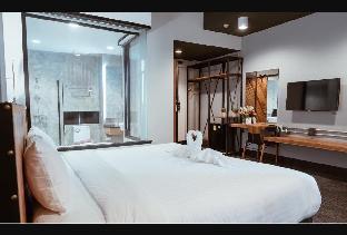 Ou Hotel by Neaw Superior Double Room KingBed 5 สตูดิโอ อพาร์ตเมนต์ 1 ห้องน้ำส่วนตัว ขนาด 34 ตร.ม. – วัดจันทร์