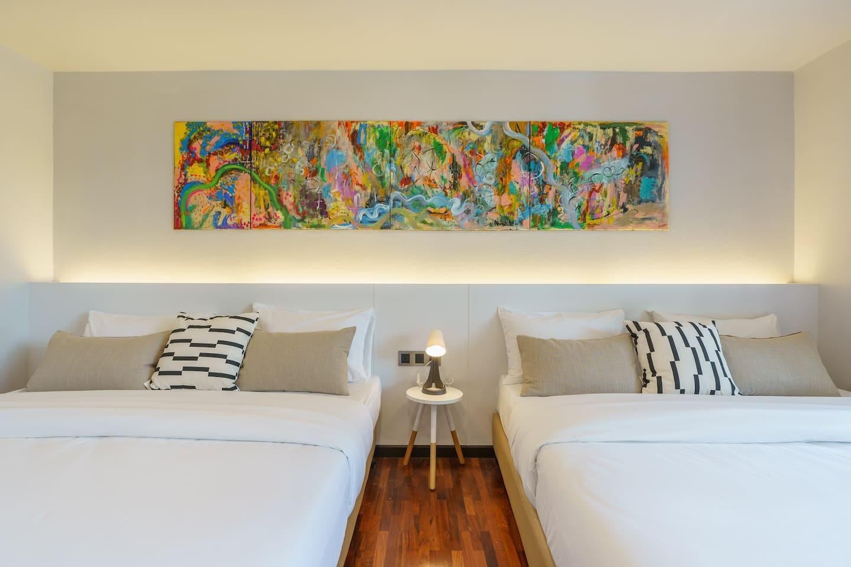 ART&ZEN 2BR dailyclean@ SUKHUMVIT 39 BTS Phrompong บ้านเดี่ยว 2 ห้องนอน 2 ห้องน้ำส่วนตัว ขนาด 35 ตร.ม. – สุขุมวิท
