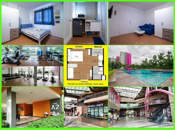 Family Apartment My Home In Bangkok C1/508 Bangkok