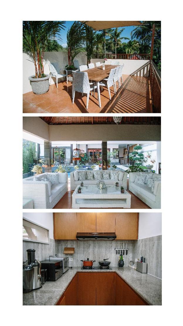 Villa sawah a room with no balcony