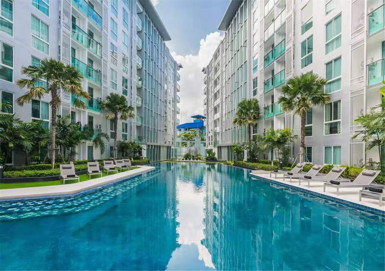 Downtown Pattaya CityCenterResidence อพาร์ตเมนต์ 1 ห้องนอน 1 ห้องน้ำส่วนตัว ขนาด 30 ตร.ม. – พัทยากลาง