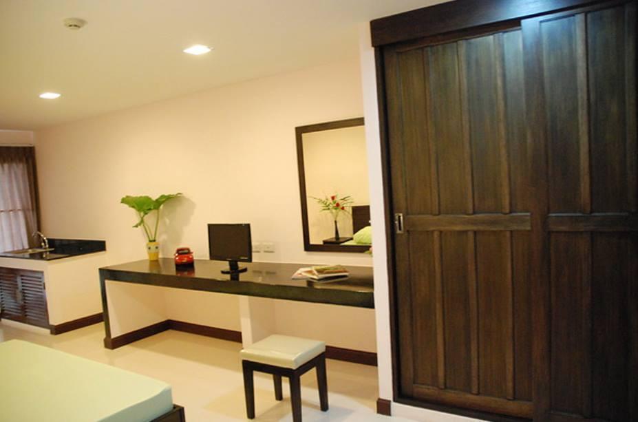 Baan MokMek studio room 5 สตูดิโอ อพาร์ตเมนต์ 1 ห้องน้ำส่วนตัว ขนาด 30 ตร.ม. – รัชดาภิเษก