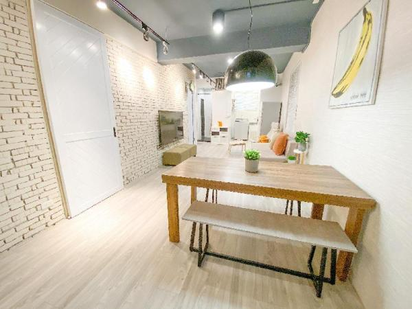 *New* The White Mansion/CountryStyle 2LDKY/3minMRT Taipei