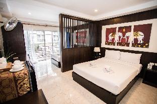 42Patong beach#Balcony Family Room#Near bangla rd อพาร์ตเมนต์ 1 ห้องนอน 1 ห้องน้ำส่วนตัว ขนาด 30 ตร.ม. – ป่าตอง