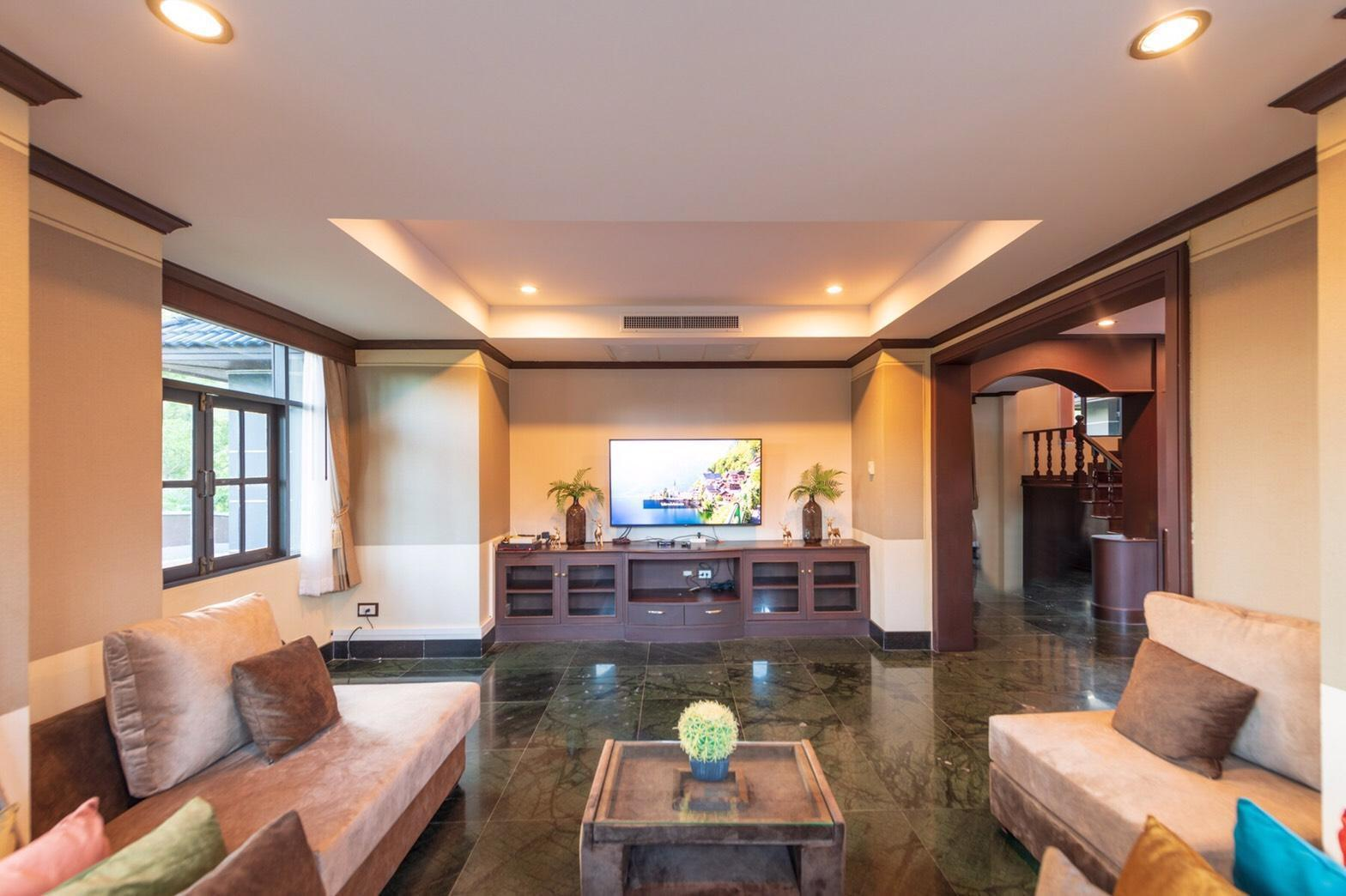 The Secret Pool Villa วิลลา 5 ห้องนอน 4 ห้องน้ำส่วนตัว ขนาด 800 ตร.ม. – บ้านทรายไทย