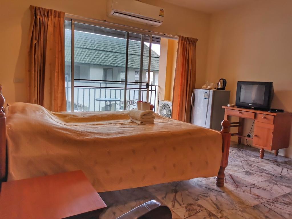 Jomtien Seaside House Studio Room 1 อพาร์ตเมนต์ 1 ห้องนอน 1 ห้องน้ำส่วนตัว ขนาด 30 ตร.ม. – หาดจอมเทียน