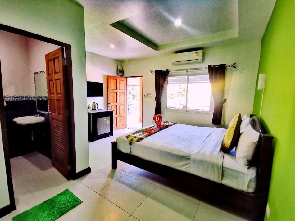 Koh Lanta Guest House (Double Aircon ) อพาร์ตเมนต์ 1 ห้องนอน 1 ห้องน้ำส่วนตัว ขนาด 30 ตร.ม. – ศาลาด่าน