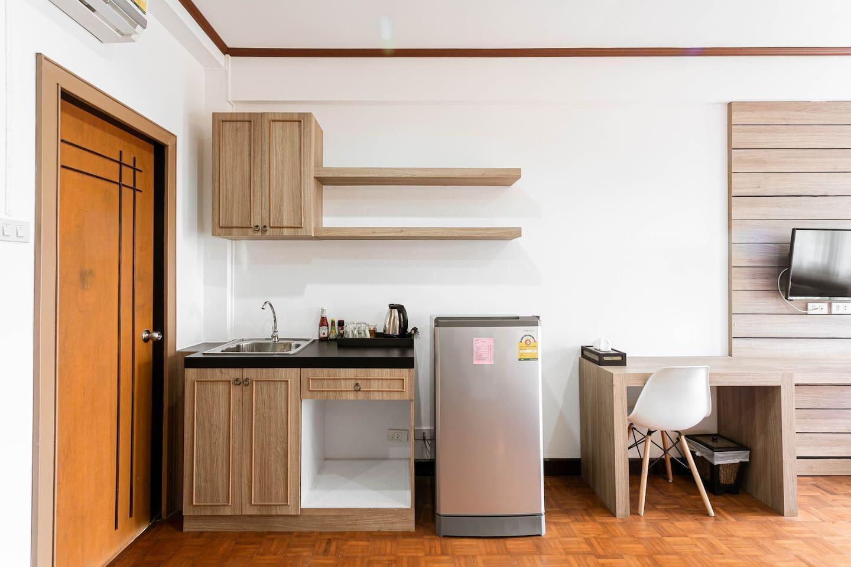 305-Pearl Pailin Residence-sweet-Kitchen อพาร์ตเมนต์ 1 ห้องนอน 1 ห้องน้ำส่วนตัว ขนาด 30 ตร.ม. – ท่าศาลา