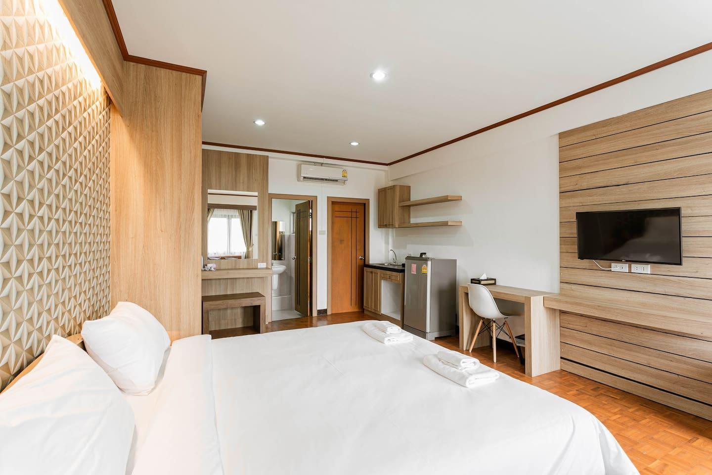 307-Pearl Pailin Residence-sweet-Kitchen อพาร์ตเมนต์ 1 ห้องนอน 1 ห้องน้ำส่วนตัว ขนาด 30 ตร.ม. – ท่าศาลา