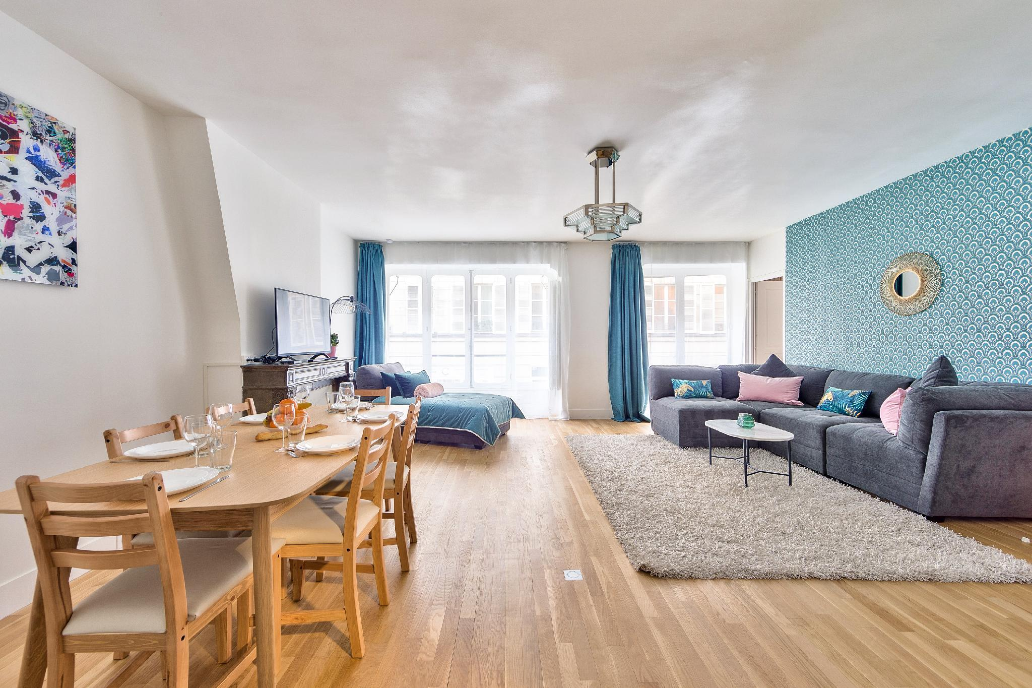 NEW Paradis - 2Bdrs Flat In The Heart Of Paris