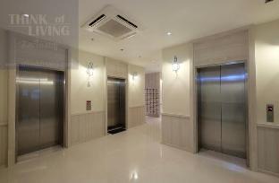 [南トンブリー]アパートメント(25m2)| 1ベッドルーム/1バスルーム Cozy River view Pool+Gym+Hi speeds WIFI+BTS