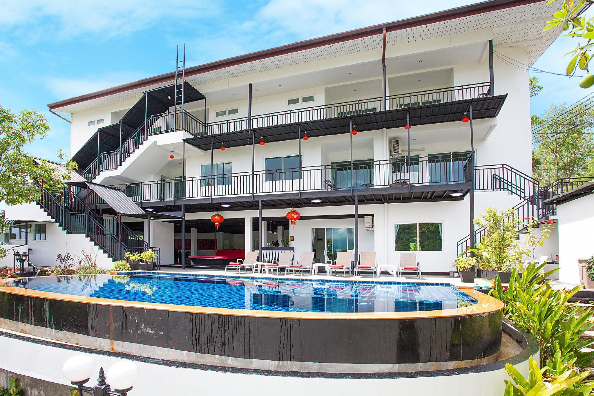 Chalong Crown Villa | Deluxe 8 Bedroom Pool Villa
