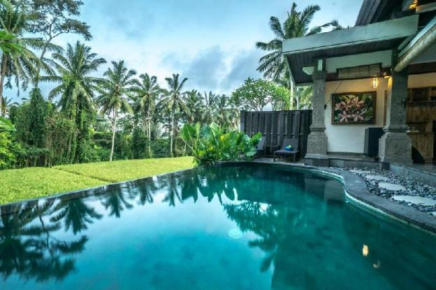 1BR Private Pool Villa with Rice Field View