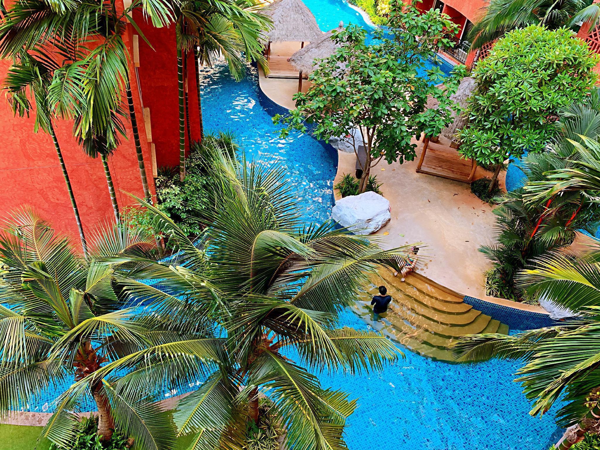 Seven Seas Condominium surrounded by swimming pool อพาร์ตเมนต์ 1 ห้องนอน 1 ห้องน้ำส่วนตัว ขนาด 35 ตร.ม. – พัทยากลาง