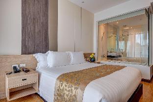 [クロンムアン]アパートメント(81m2)| 1ベッドルーム/1バスルーム Deluxe Suite Room 81 SQ.M