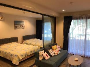 [チャアム ビーチフロント]アパートメント(40m2)| 1ベッドルーム/1バスルーム Private Condo @ Rain by Sansiri, best for families