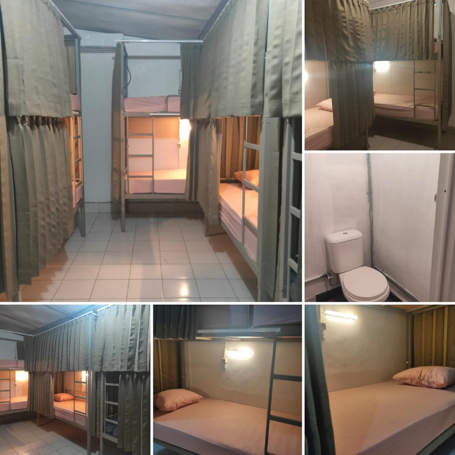 Bed in Dormitory Room @ District 10 Hostel