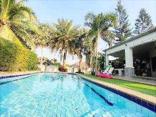 [ヒンレックファイ]一軒家(400m2)| 5ベッドルーム/3バスルーム Duang Jai Pool Villa Huahin  5BR (10-25 Pax ++ )