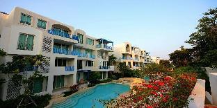[ホアヒン市内中心地]アパートメント(45m2)| 2ベッドルーム/2バスルーム Chelona Scenery Grand Family Two Bedroom Pool View