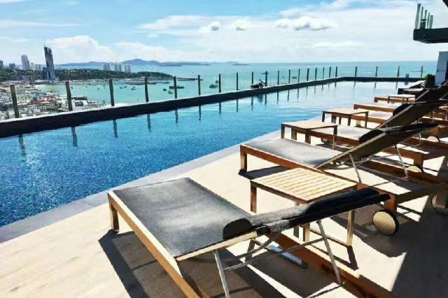 อพาร์ตเมนต์ 1 ห้องนอน 1 ห้องน้ำส่วนตัว ขนาด 30 ตร.ม. – พัทยาใต้ – The first one bedroom condominium central Pattaya