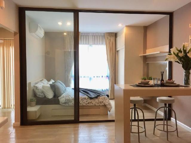 อพาร์ตเมนต์ 1 ห้องนอน 1 ห้องน้ำส่วนตัว ขนาด 33 ตร.ม. – บางแสน – The Living Plus