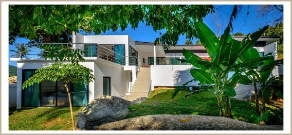 Villa neuve 4 chambres piscine dans petit paradis Koh Samui