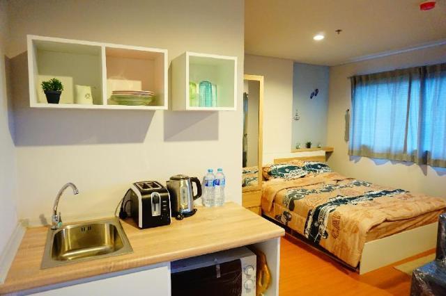 สตูดิโอ อพาร์ตเมนต์ 1 ห้องน้ำส่วนตัว ขนาด 23 ตร.ม. – ชายหาดชะอำ – Lumpini Seaveiw Chaam by Team Linde
