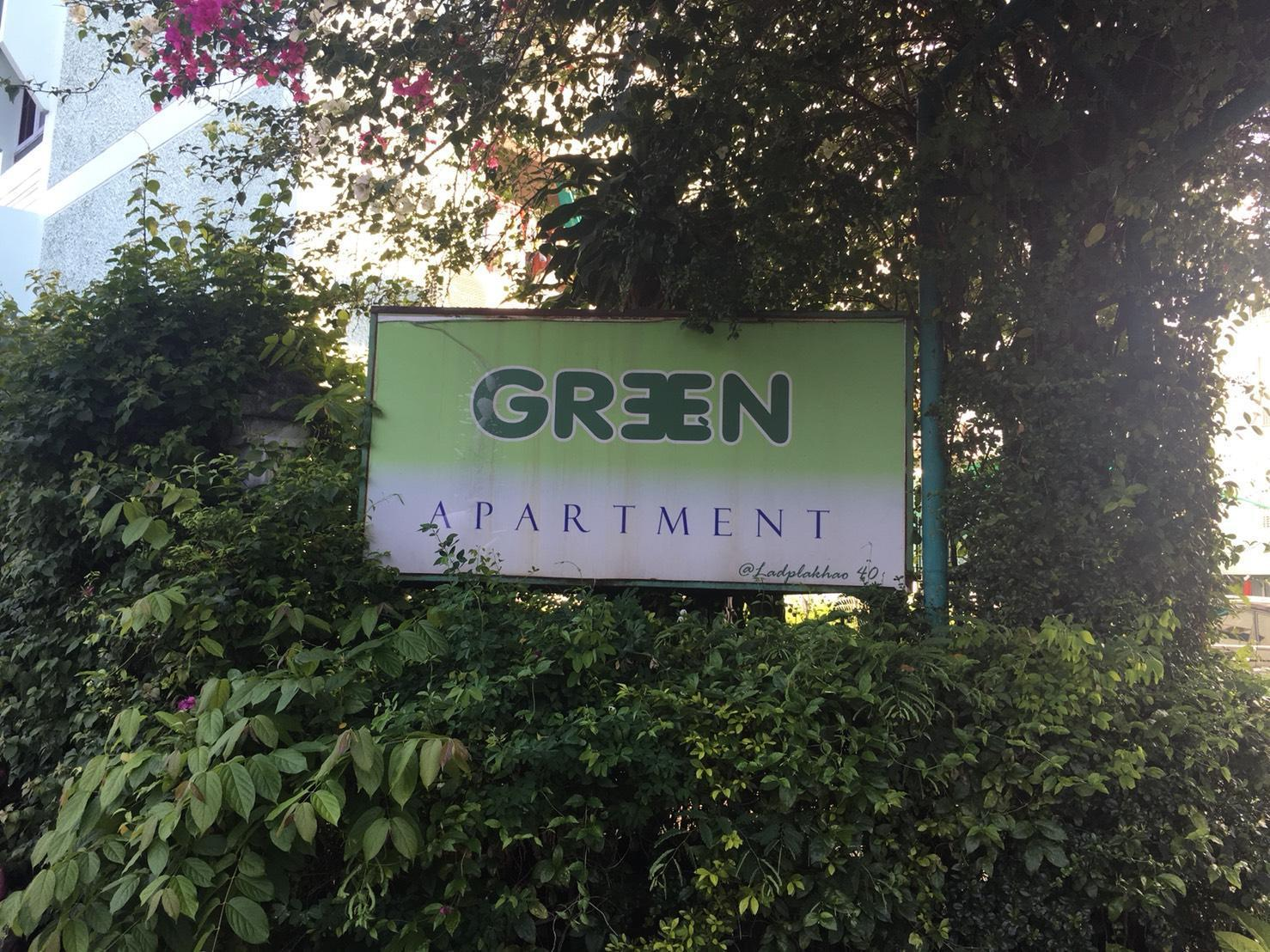 green apartment green apartment