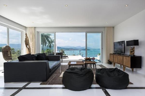 The Beach House Apartment-Sea Views, Jacuzzi, Pool Koh Samui