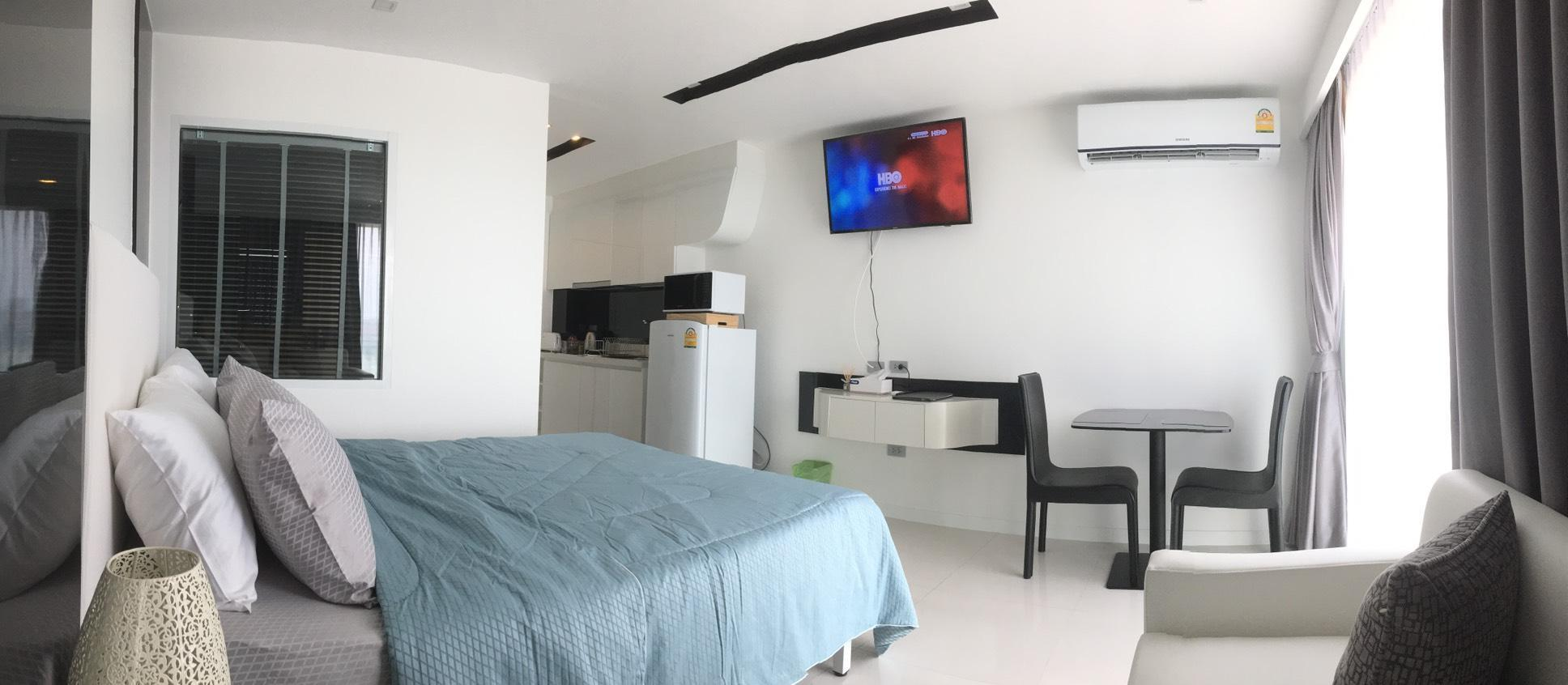 Hotel Reviews: VIP Pattaya Praivate Studio Queen Bed Pattaya 3 Rd – Picture, Room Prices and Deals