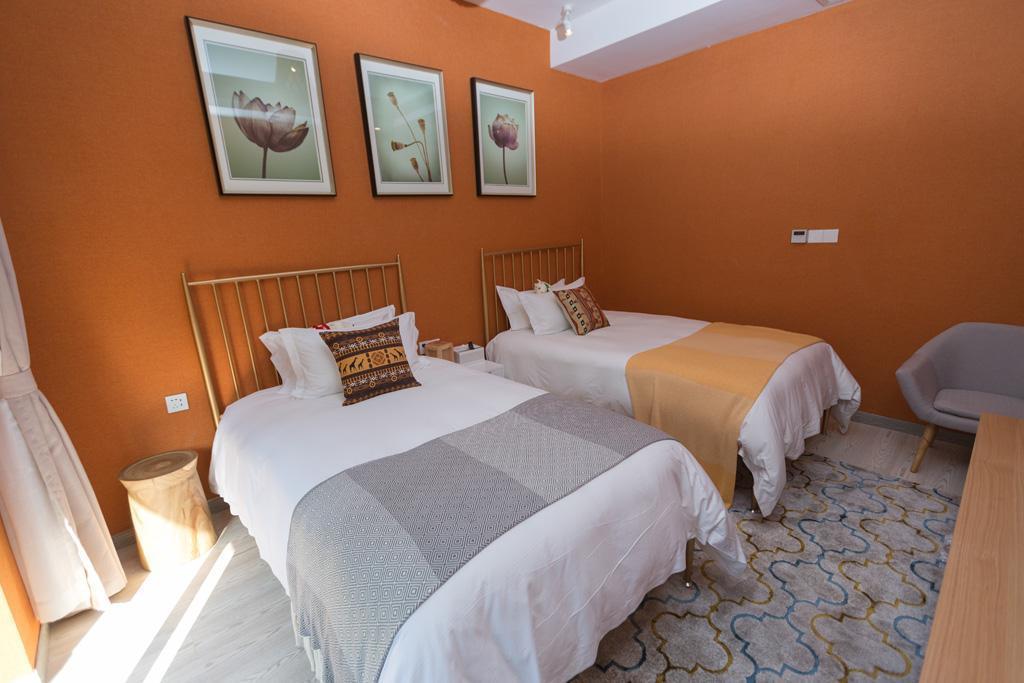 Tingyu Twin Bed Room