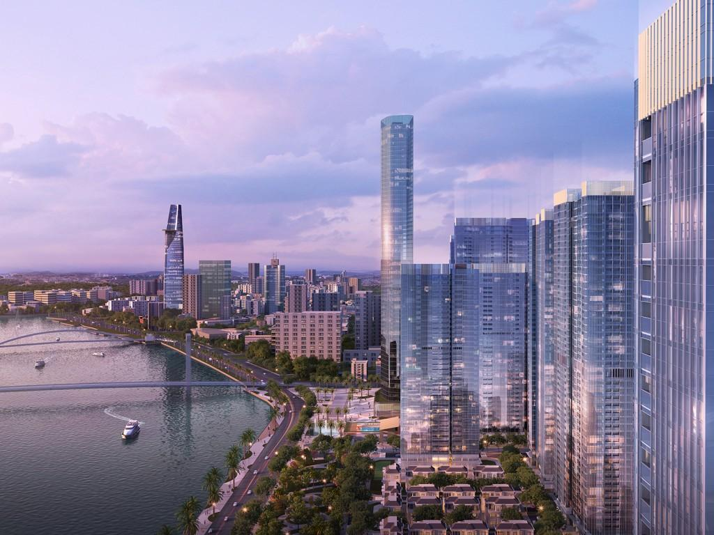 Lux River View Condo 400 Meter To Center Vinhomes