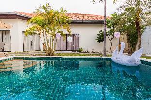 [プラタムナックヒル]ヴィラ(250m2)| 4ベッドルーム/4バスルーム 4 bedroom Pool Villa + 200 m walk to private beach