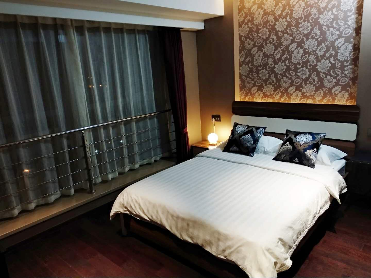 Changfeng Business District Apartment View Room