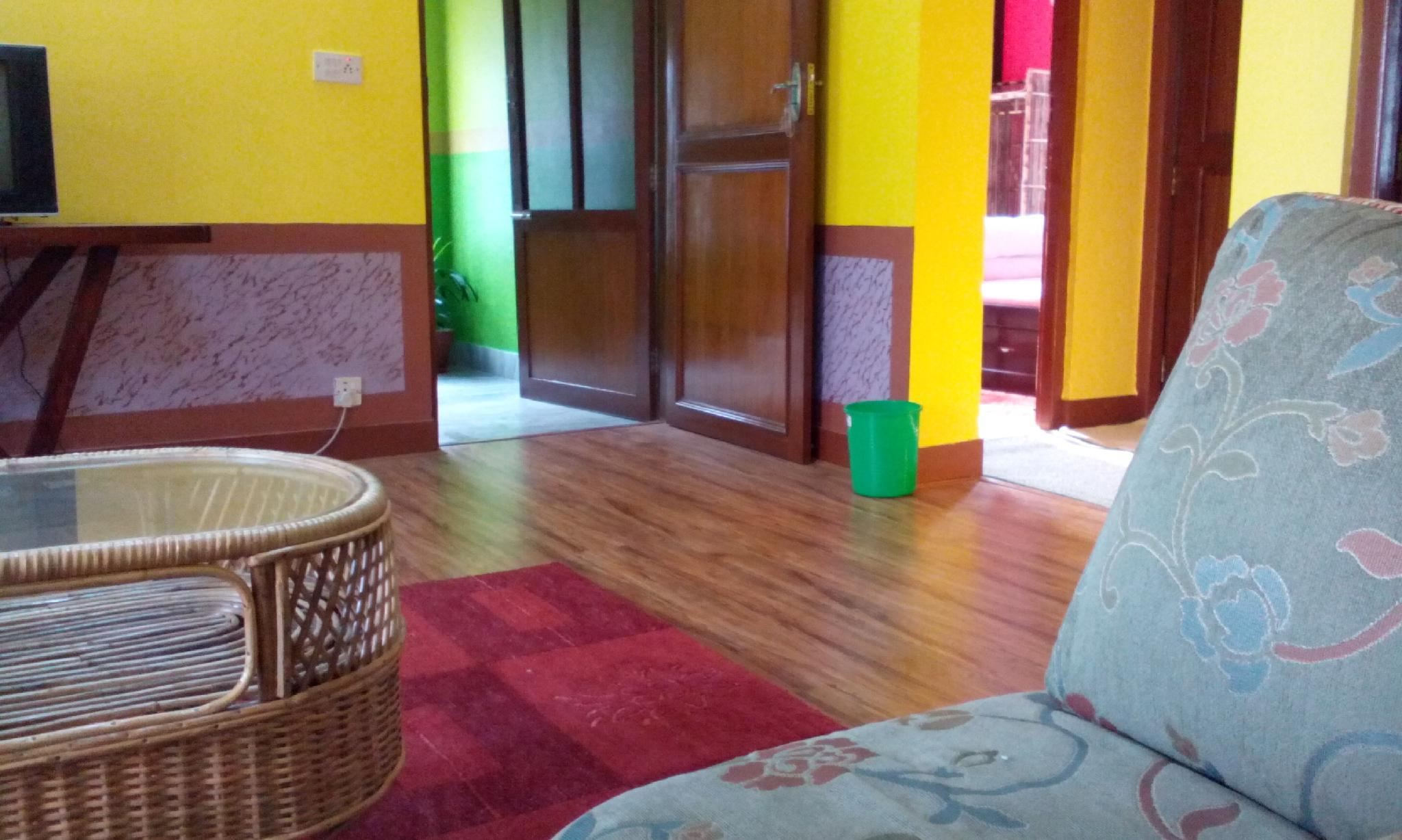 Nepali Home Environment And Peaceful Place.