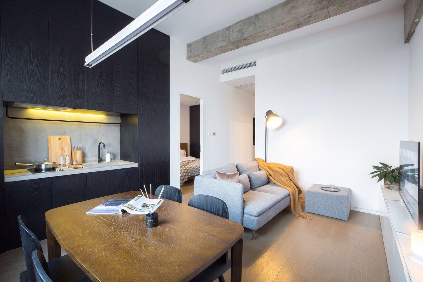 Scandinavian Minimalist Cosy 1 Bedroom