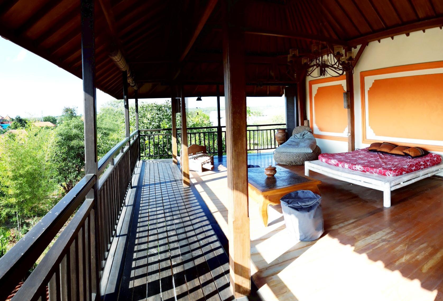 Lokasi A Balinese home in Nusa Dua Jalan Taman Bali