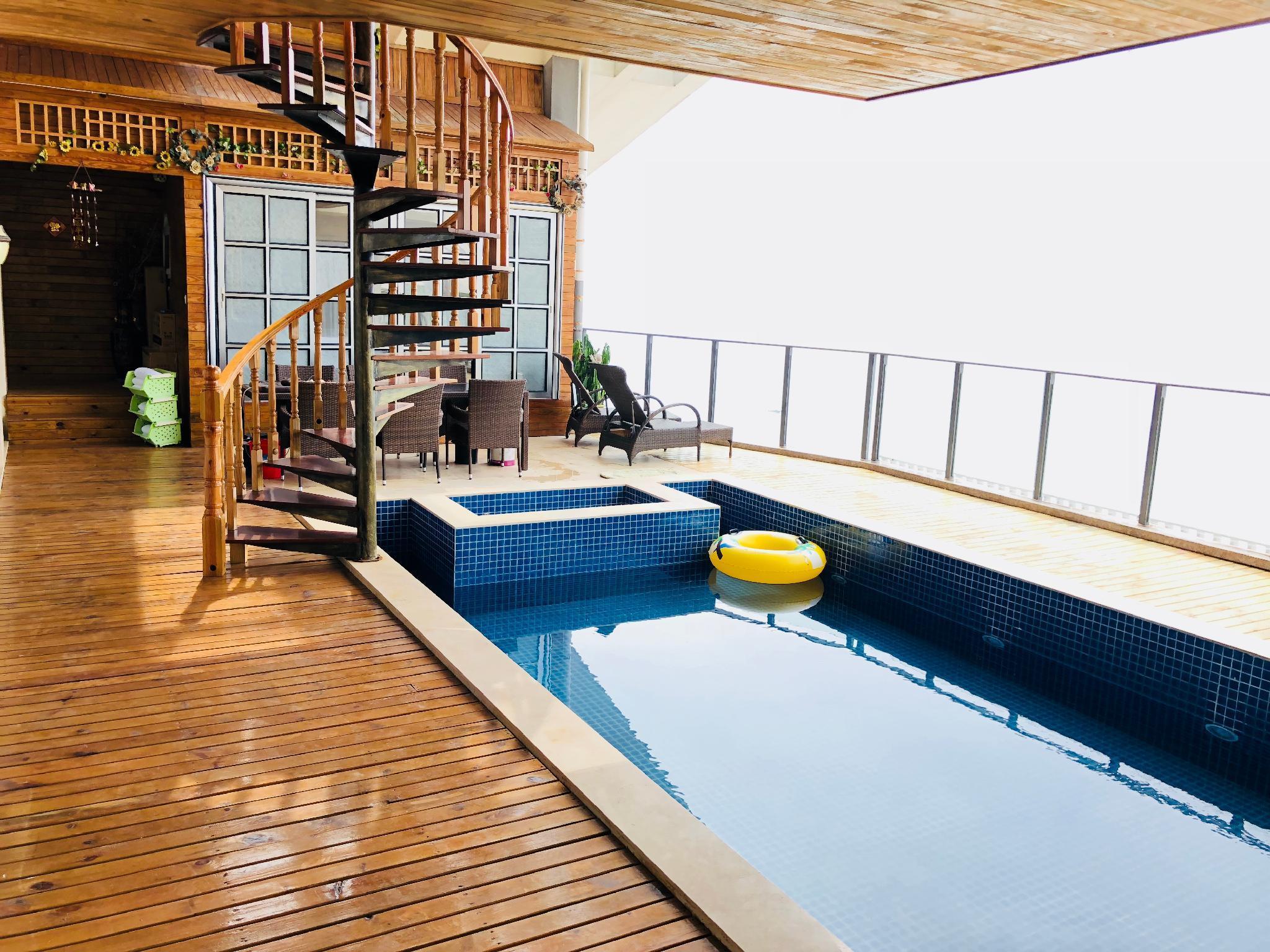Air Pool Ocean View Villa. 5room
