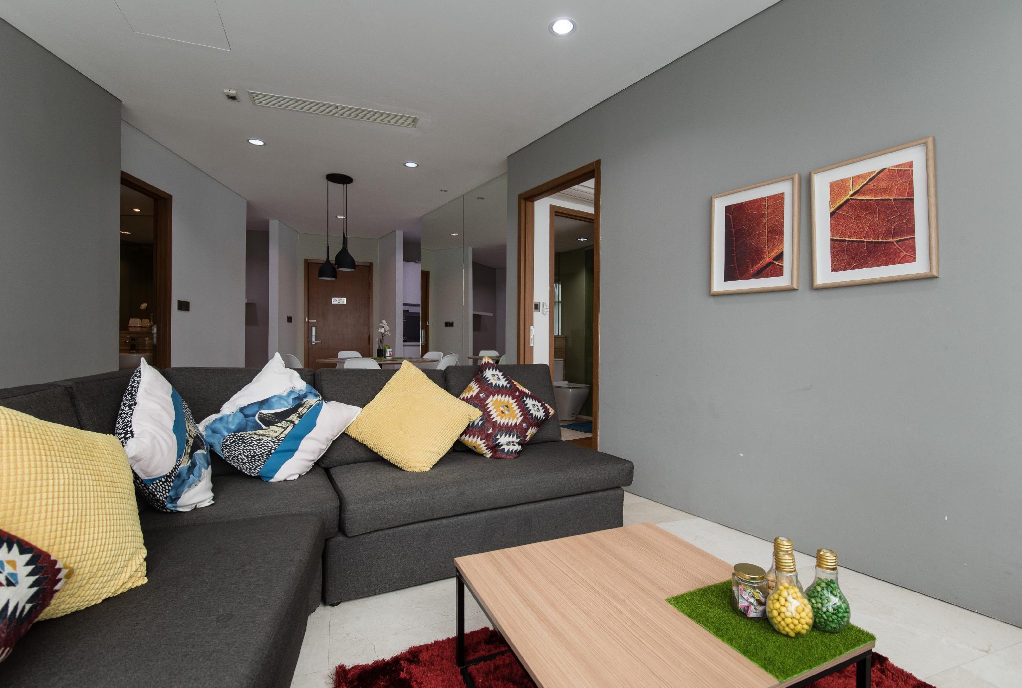 Suri Suites @ Vortex KLCC   2 Bedrooms  8