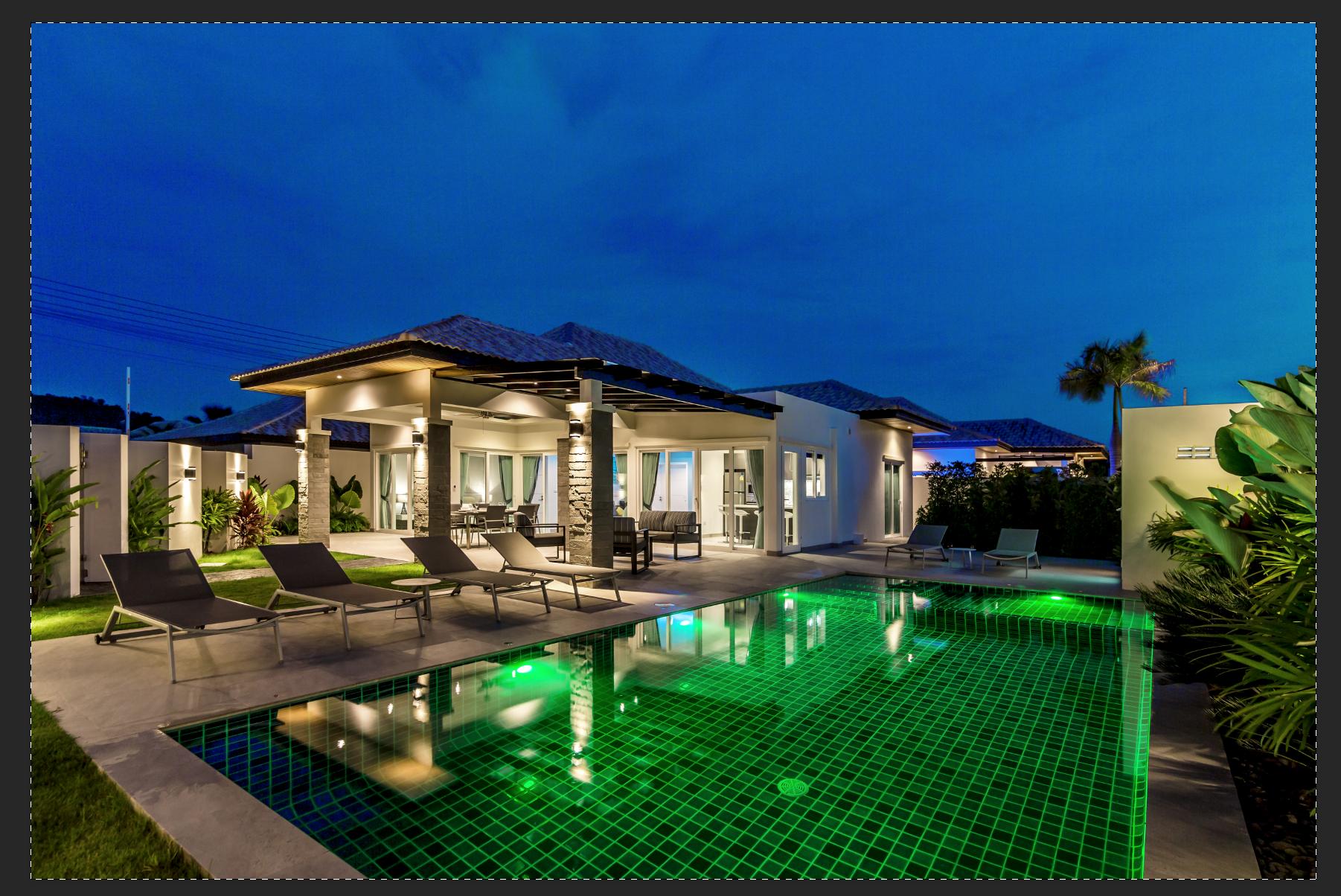 Stunning Spacious Private Pool Villa