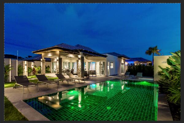Stunning Spacious Private Pool Villa Hua Hin