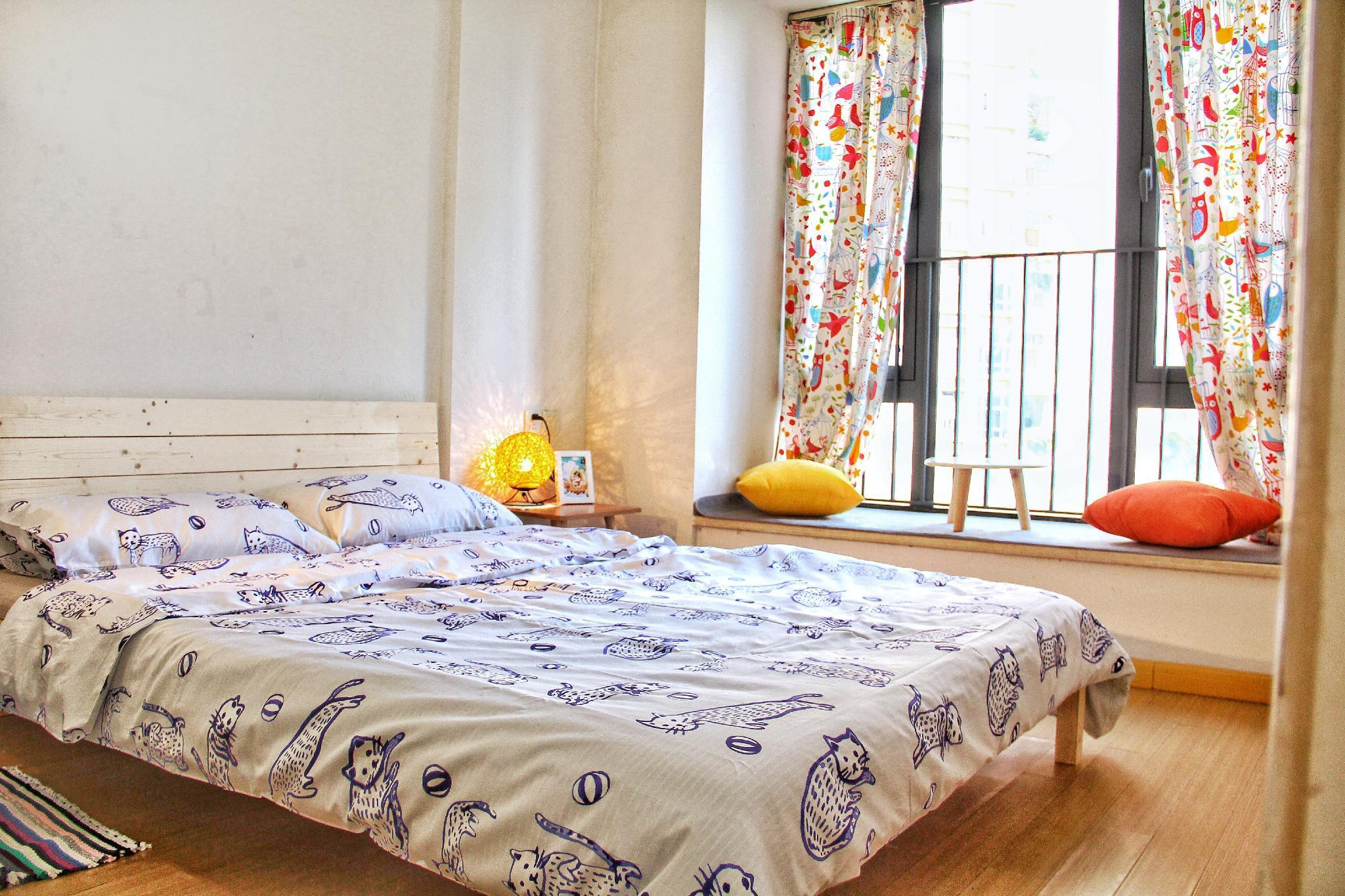 One bed room apartmen subway/riverside/Scenic spot